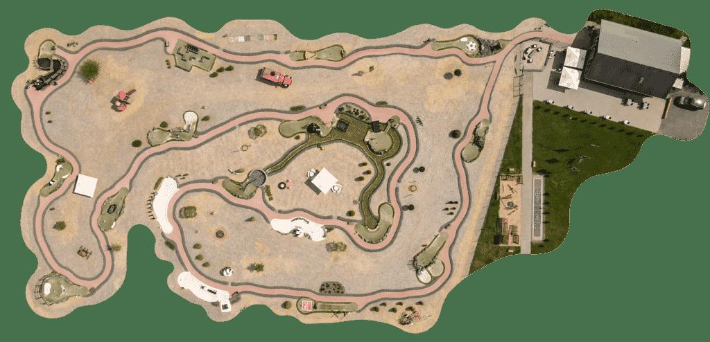 Adventuregolf Winterberg Interkative Map